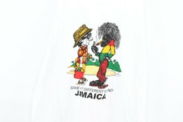 Vintage 90s Mens Medium Funny Jamaica Same Sh*t Different Island Tank To... - $39.55