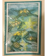 "Francene Hart Signed Print Numbered Gentle Spirits Turtles 11"" By 17"" #54 - $56.09"
