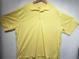 Yellow PGA Tour Mens T-Shirt Size 2XL - £9.66 GBP
