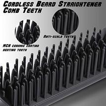 Cordless Beard Straightener Comb image 4