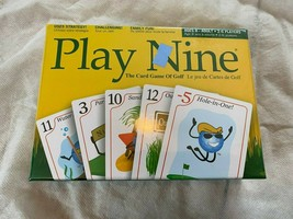 Play Nine The Card Game of Golf New Sealed Age 8 - Adult Great Fun - $19.84