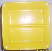 STANGL TOASTMASTER PERSIAN YELLOW HORS D'OEUVRES TRAY - $19.95
