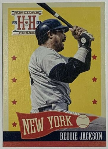 Primary image for 2013 Panini Hometown Heroes #202 Reggie Jackson New York Yankees Baseball Card