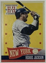 2013 Panini Hometown Heroes #202 Reggie Jackson New York Yankees Basebal... - $2.44