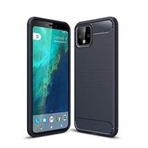 CruzerLite Google Pixel 4 Case, Carbon Fiber Texture Design Cover Anti-Scratch S