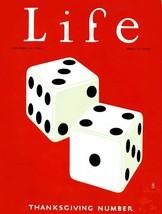 Life Magazine Prints: Thanksgiving Number - C. - Nov 18 1926 - $12.95+