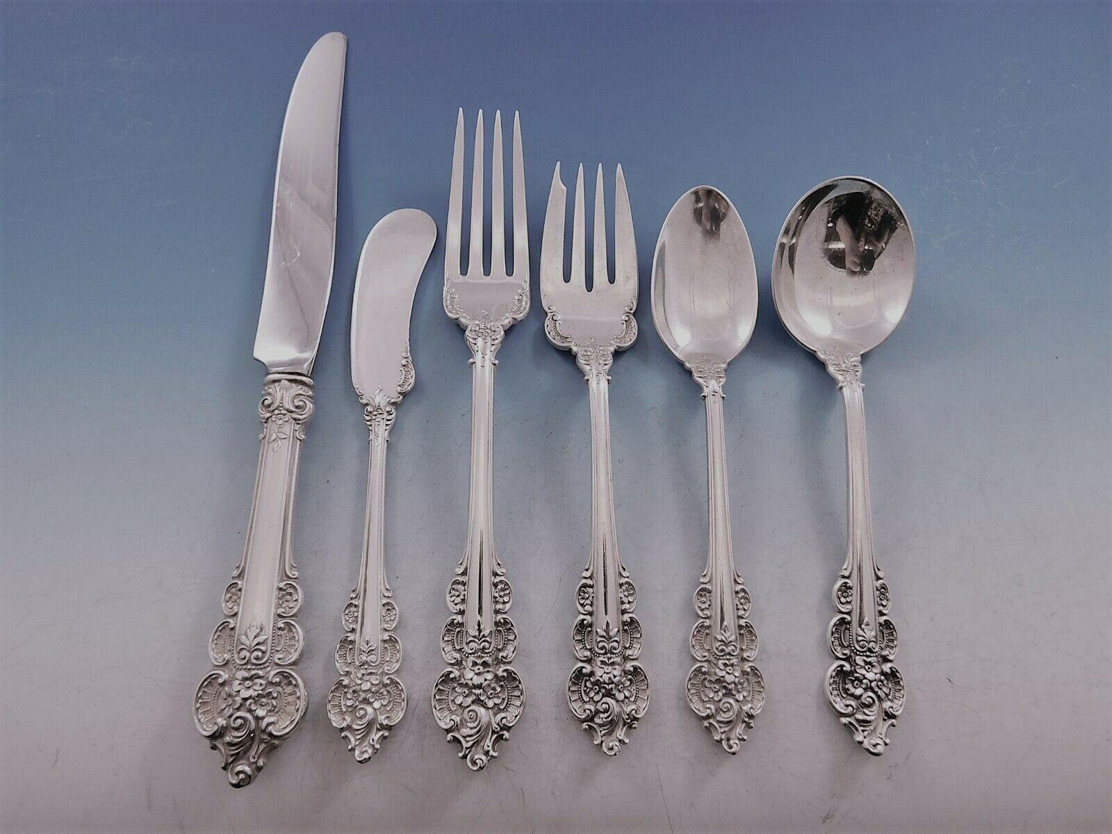 Primary image for Botticelli by Frank Whiting Sterling Silver Flatware Set Service 80 pieces