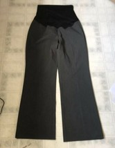 Ann taylor loft Maternity Gray Size Petite 8 Dress Pants Full Panel Back... - $21.32