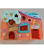 2007 Hasbro LPS Littlest Pet Shop Orange Club Tree House Playset - $14.84