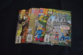 Fantastic Four Comic Lot 5 Books 389 392 394 395 396 VF NM Spider-Man - $6.77