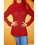 Heather B Women's Cowl Neck Sweater size Small NWT - $15.83