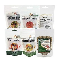 Treat Assortment 6 Pack - Pet Treat with Mix of Dried Fruits, Yogurt, Dr... - $30.57