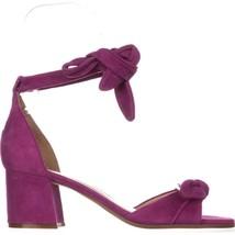 Ivanka Trump Ezra Dark Pink Suede Sandals Size US 8 M - $69.00