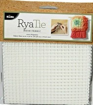 Bucilla BUC49037 Ryatie Mesh Fabric 24X30 New - $14.84