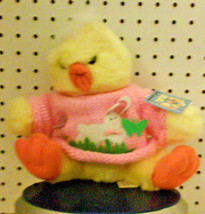 "New - Chick - Duck - Plush - Dan Dee - Collectors Choice - 9"" High - Easter - $11.99"