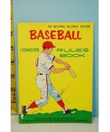 NFHS 1965 Baseball Rules & Handbook National Alliance Ed. High School Co... - $9.99