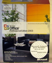 Microsoft Office Professional Edition 2003 - $22.99