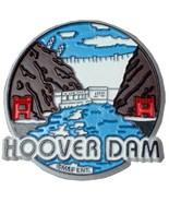 Hoover Dam Round Fridge Magnet - $3.50
