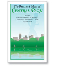 FREE The Runner's Map of Central Park: smaller size, courses and pace ch... - $0.00