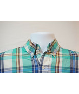 Chaps Ralph Lauren Short-Sleeve Button-Front Shirt, Excellent, Men's Lar... - $11.74