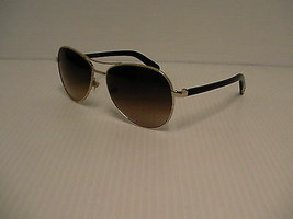 Neuf Lunettes Chanel 4201 c.395/3b Or Verres Marron Aviator Style 58mm - $295.47
