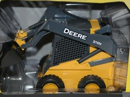 John Deere LP51308 Die Cast Metal Replica 318E Skid Steer image 2