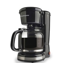 Toastmaster TM-122CM 12 Cup Pause/Serve Coffeemaker, Black - $26.33