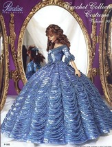 1858 Jeweled Cotillion Costume for Barbie Parad... - $11.67