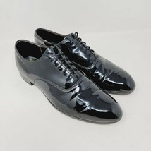 Vintage Cole Haan Mens Imperial Grade Patent Leather Dress Shoes Oxfords... - $169.87