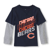 NFL Chicago Bears Boy or Girl  Top Longsleeve Shirt Infant Size 9-12 M NWT - $12.59