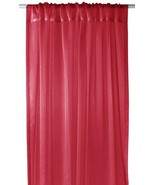 Couture 1 Piece Solid Sheer Window Treatment Curtain - $23.98