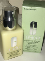 CLINIQUE ~ Dramatically Different Moisturizing Gel  with pump 4.2 oz /  125 ml - $18.77
