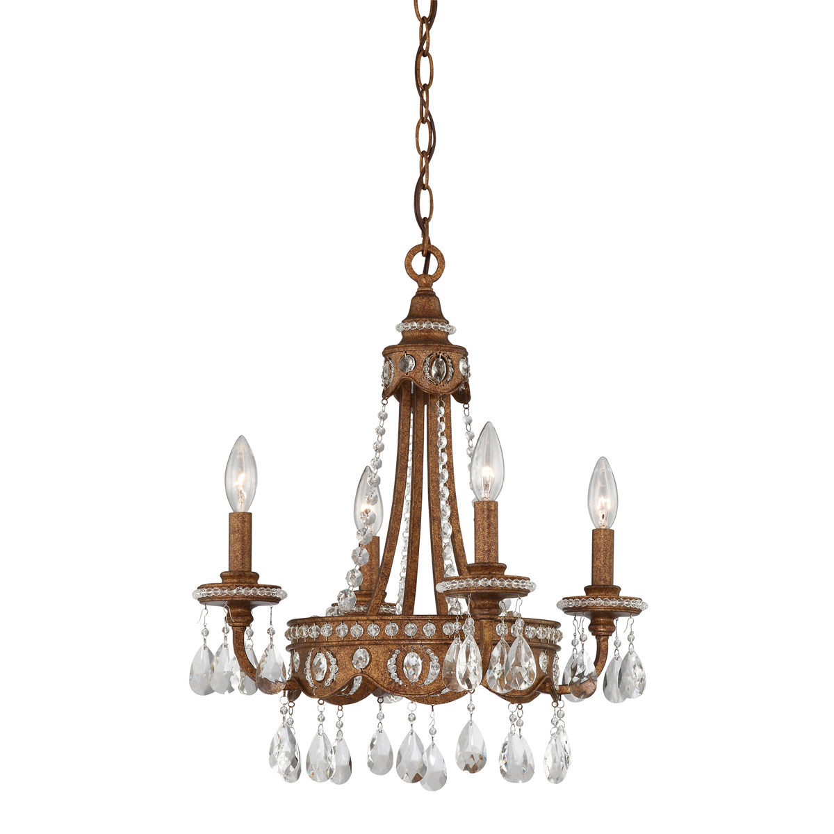Primary image for Alston 4-Light Chandelier in Bolivian Bronze