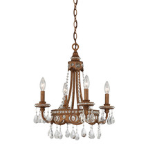 Alston 4-Light Chandelier in Bolivian Bronze - $349.99