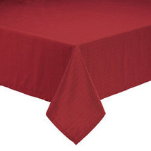 Sophia Tablecloth by OakRidge-54x72Oblong-Burgundy - $22.99