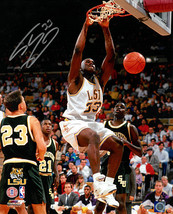 Shaquille O'Neal signed LSU Tigers 16x20 Photo #33 (dunk) - $134.95