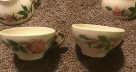 "VINTAGE Franciscan Desert Rose China Coffee Tea Cup 4"" - set of 2 Lot USA - $19.79"