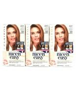 3 Boxes Clairol Nice N Easy Repair Plex 6W Light Mocha Brown Permanent H... - $26.99