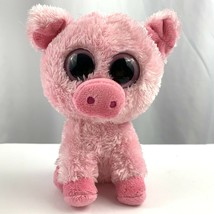 "TY Beanie Boo Corky Pink Pig 2012 Plush Stuffed Animal Beanie 6"" Tall - $10.26"