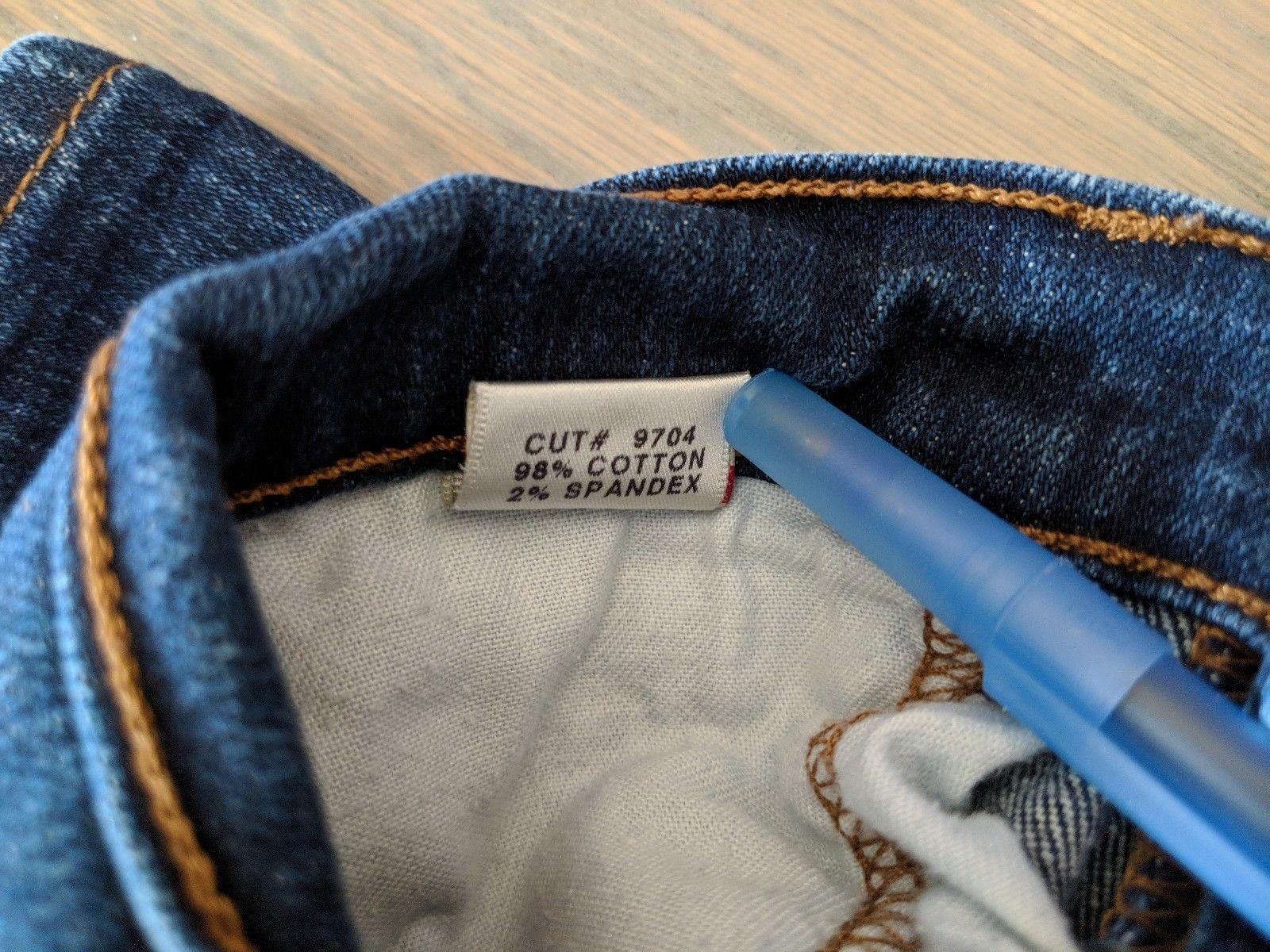 J Brand 28 Aruba Denim Skinny Slim Stretch Medium Wash Jeans Womens Pants image 8