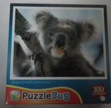 Brand New Jigsaw Puzzle Cute Koala Bear PuzzleBug 100 pieces Free Ship  - $5.93