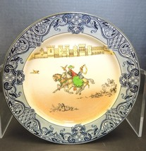 "Royal Doulton Burslem ""Falconry"" Porcelain 8 1/2"" Plate - Light Crazing - $75.99"