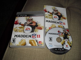 Madden Nfl 11 --- Playstation 3 PS3 Complete Cib w/ Box, Manual 2010 - $5.99