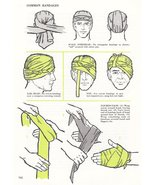 Vintage First Aid Medical Art Print Common Bandages Collectible Art Prin... - $14.99