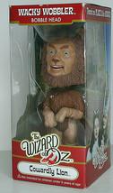 Cowardly LION WIZARD OF OZ WACKY WOBBLER 2010 FUNKO BOBBLE HEAD DOLL NIB - $26.61