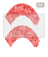 CupCake Wrapper22-Digital Clipart-Holiday-Gift Tag-Digital Paper-Party - $2.00