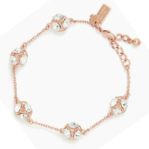 Kate Spade Lady Marmalade Chain Link Bracelet, Rose Gold