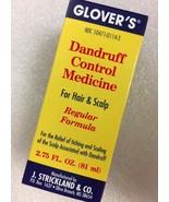 GLOVER'S DANDRUFF CONTROL MEDICINE FOR HAIR & SCALP REGULAR FORMULA 2.75 OZ - $6.52
