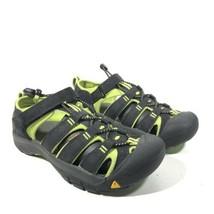 Keen Waterproof Shoes Hiking Sandals Black/Lime Green - Women's Size 5 - $31.08