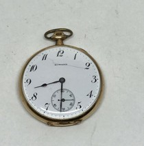 ANTIQUE E. HOWARD WATCH CO BOSTON POCKET WATCH 14K GOLD FILLED SERIAL #1... - €297,88 EUR